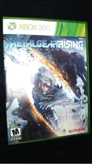 Jogo De Xbox 360 Metal Gear Rising: Revengeance