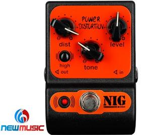 Pedal P/guitarra Nig Power Distortion Ppd Nig #355