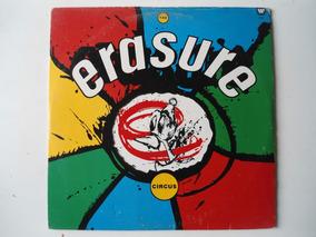 Lp Erasure - Circus C/ Encarte 1989