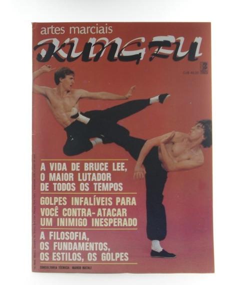 Livro Revista União Nacional De Kung Fu Marco Natali