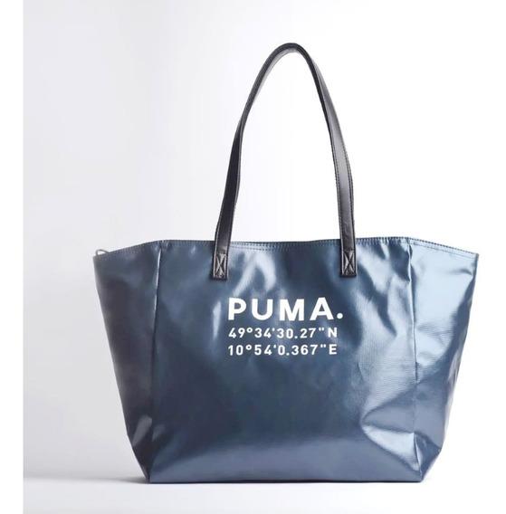 Bolsa Feminina Puma Prime Time Large Shopper Black Gunmetal