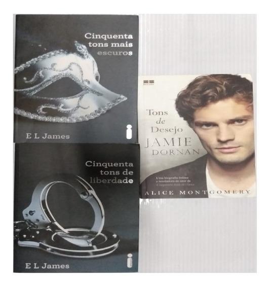 Kit Livros 2 E 3 Trilogia 50 Tons De Cinza + Tons De Desejo