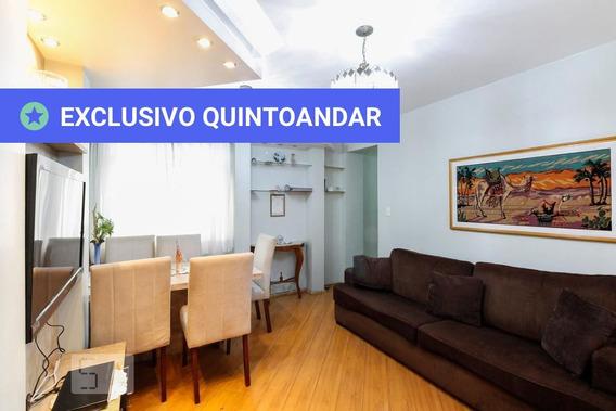 Apartamento No 13º Andar Mobiliado Com 2 Dormitórios E 1 Garagem - Id: 892948123 - 248123