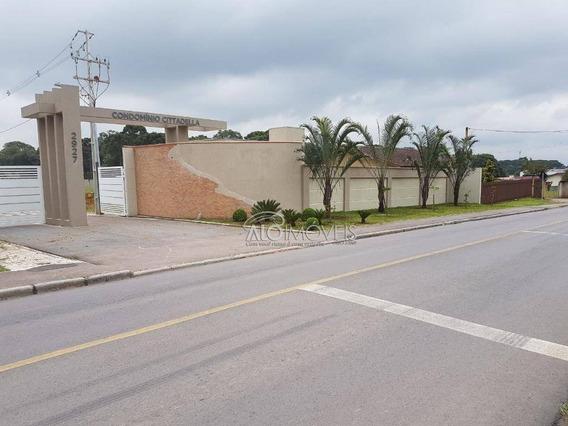 Terreno À Venda, 280 M² Por R$ 280.000,00 - Umbará - Curitiba/pr - Te0027