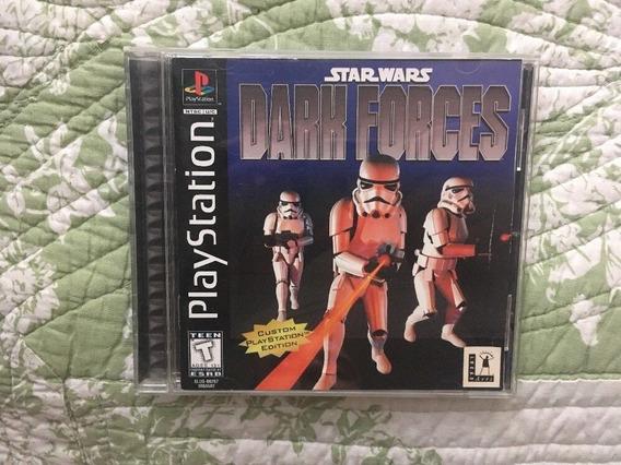 Ps1 - Star Wars Dark Forces - Original Ntsc Doom Duke Nukem