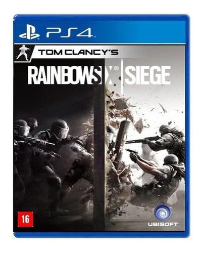 Imagen 1 de 3 de Tom Clancy's Rainbow Six Siege Standard Edition Ubisoft PS4 Físico