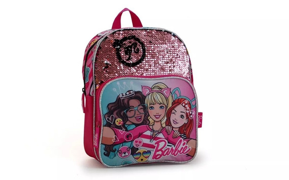Mochila Barbie Jardin 12 Espalda + 33631
