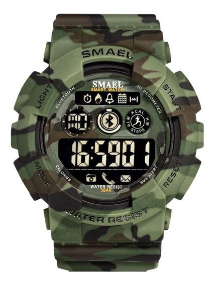 Relógio Militar Smael 8013 (verde)