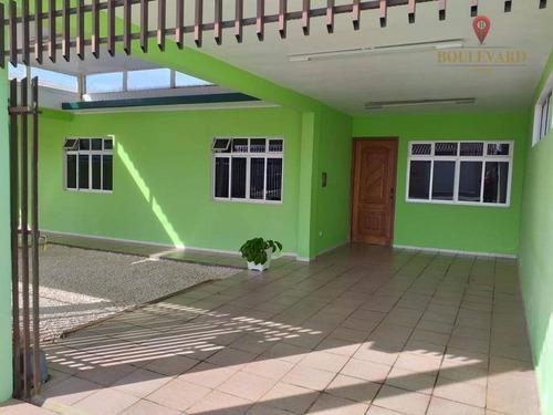 Imagem 1 de 18 de Casa Com Edícula À Venda Por R$ 570.000 - Eucaliptos - Fazenda Rio Grande/pr - Ca0153