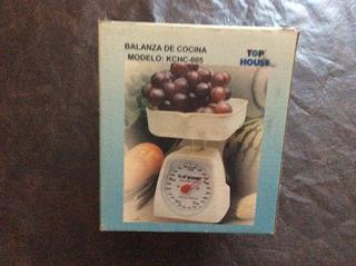 Balanza De Cocina Analogica - Hasta 5 Kg