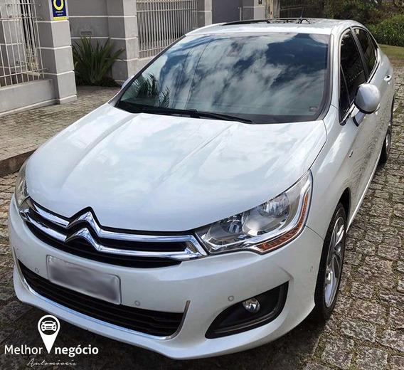 Citroën C4 Lounge Exclusive 1.6 Tb Flex Aut. 2015 Branco