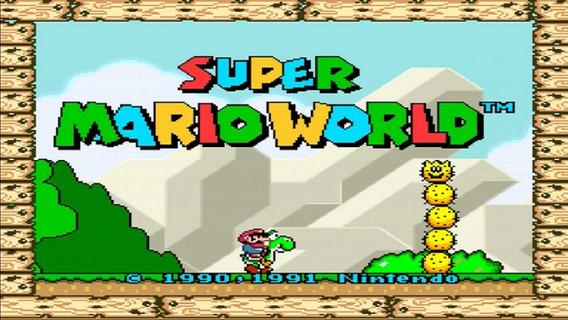 Super Mario World Para Pc Digital + Outros Brindes