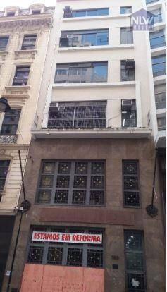 Prédio Para Alugar, 1278 M² Por R$ 35.000,00/mês - Centro - São Paulo/sp - Pr0001