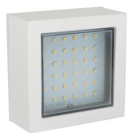 Luminario Led Cubo Para Exterior Ldlp01 Surtek