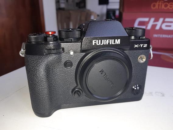 Fujifilm X-t2 + Bateria Original + Carregador