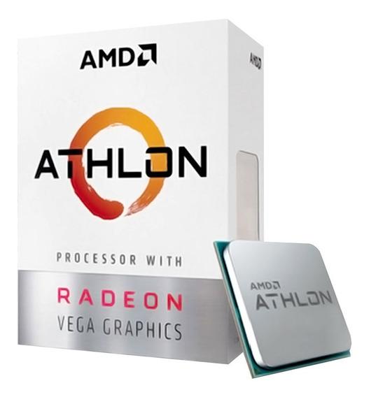 Processador Am4 Amd Athlon 3000g 3.5ghz Radeon Vega 3 35w
