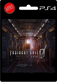 Resident Evil 0 Zero Ps4 Digital |1º| Playstation 4 Oferta