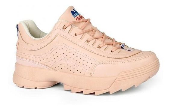 Tênis Dakota Dad Sneaker Kicks Rosa - G0981