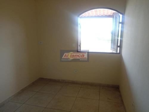 Casa Com 1 Dormitório Para Alugar, 40 M² - Parque Continental Ii - Guarulhos/sp - Ai15755