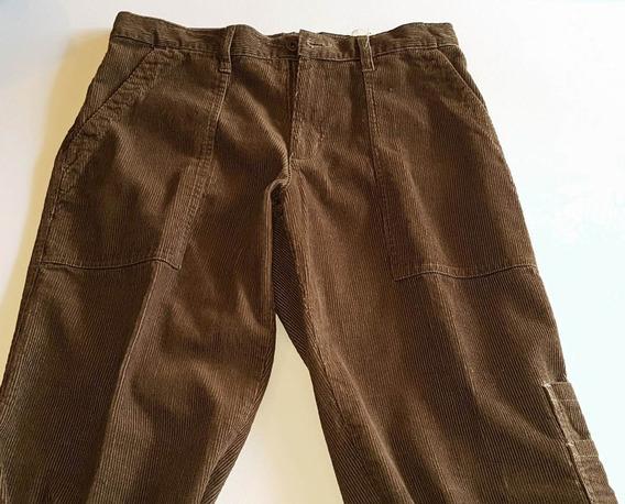 Pantalon De Corderoy Rustico Talle 38 Oferta Liquido