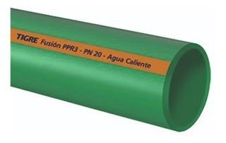 Caño Termofusion Agua Fria/caliente 40mm(1y1/4)pn20 Tigre+en
