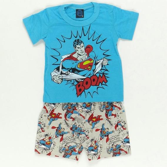 Pijama Superman Verão Kamylus Pepila