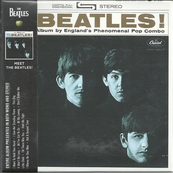 Cd Cd The Beatles Meet The Beatle The Beatles