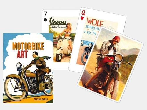 Imagen 1 de 2 de Moto Art Juego De Cartas