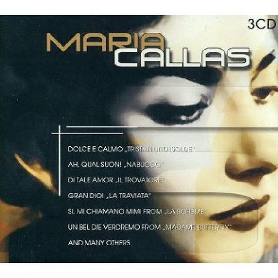 Box 3 Cds Maria Callas (importado)
