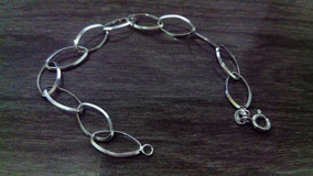 Linda Pulseira Em Prata 925. Traços Delicados E Elegantes