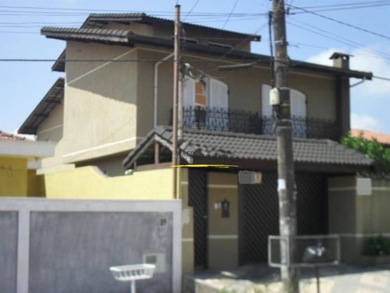 Sobrado À Venda 4 Quartos 324 M² Por R$ 595.000 - Jardim Santa Luzia (santa Luzia) - Ribeirão Pires/sp - So0027