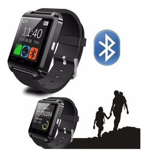 Smartwatch U8 Preto Relógio Inteligente Bluetooth Android