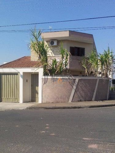Imagem 1 de 18 de Sobrado Residencial À Venda, Vila Nova, Rio Claro. - So0008