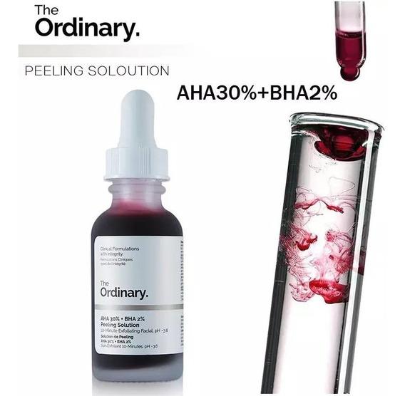 The Ordinary Aha 30% + Bha 2% Peeling Solution 30ml Original