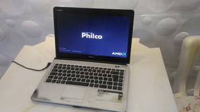 Notebook Philco 14i (gabinete Quebrado, Sem Tela)