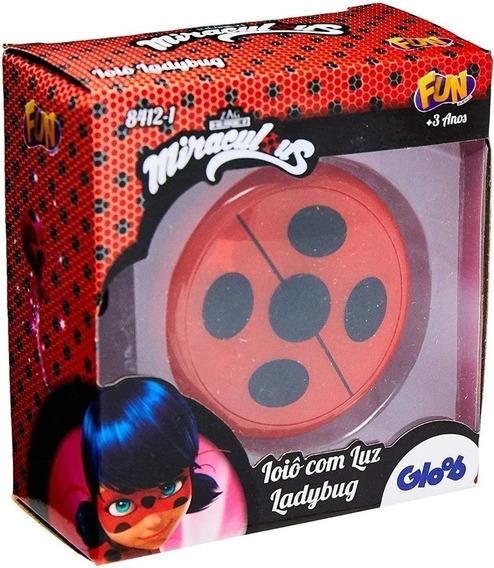 Brinquedo Miraculous - Ioiô Com Luz Lady Bug - Original Fun