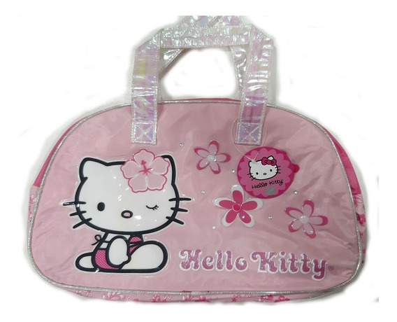 Bolso Hello Kitty Grande Footy Amo A Mis Juguetes