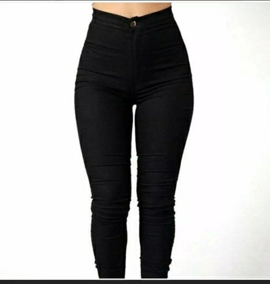 Pantalones Corte Alto Negro Pantalones Para Mujer Azul Marino En Mercado Libre Venezuela