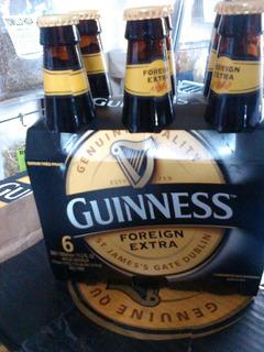 Cerveza Guinness Foreing Extra Importada Irlanda ,caballito