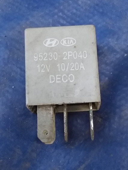 Relé Kia Cerato Hyundai Hb20 95230-2p040 10/20a