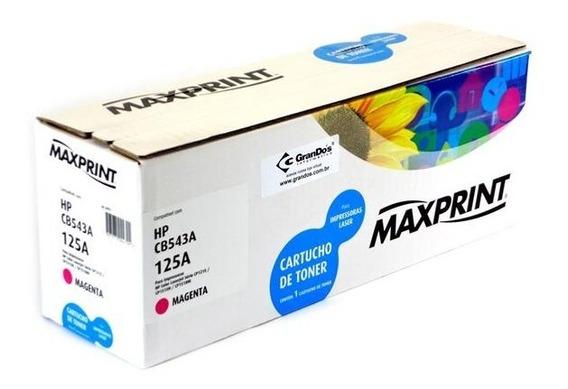 Toner Maxprint Cb543a 125a Magenta