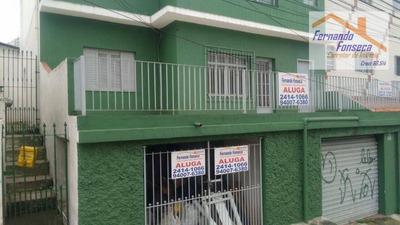 Casa Residencial Para Locação, Vila Endres, Guarulhos. - Codigo: Ca0015 - Ca0015