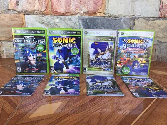Sonic Original Xbox 360 Mídia Física