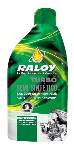 Aceite Lubricante Raloy 20w50 Turbo Semisintetico