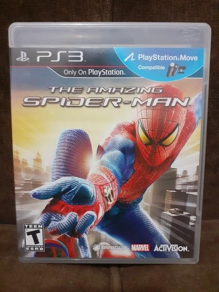 The Amazing Spider Man Ps3 Mídia Física