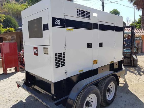 Generador De Luz Multiquip 85 Kva Diesel Nacional Garantia