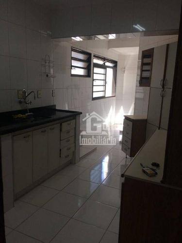 Imagem 1 de 7 de Apartamento Com 3 Dormitórios, 86 M² - Venda Por R$ 300.000,00 Ou Aluguel Por R$ 1.200,00/mês - Jardim Irajá - Ribeirão Preto/sp - Ap4587