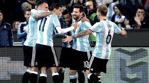 Camisetas Argentina Vs Ahiti