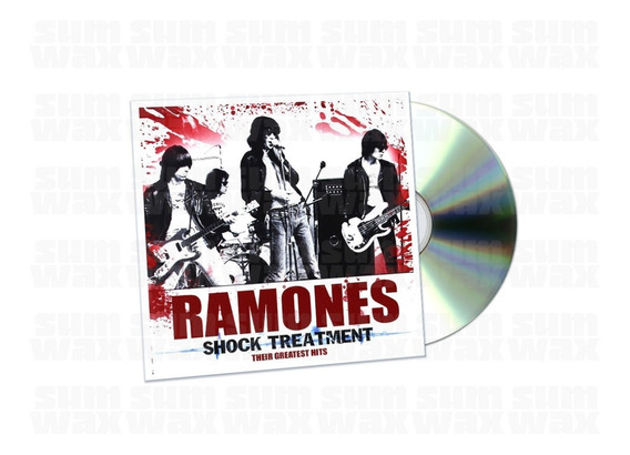 Ramones - Shock Treatment Cd Uk Import Nuevo