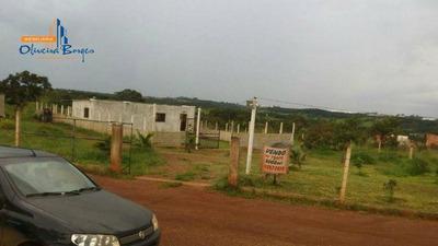 Rancho Com 1 Dormitório À Venda, 200 M² Por R$ 110.000 - Vila São Vicente - Anápolis/go - Ra0002